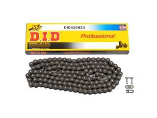 Chaîne de transmission D.I.D 420 NZ3 noir/noir 130 maillons