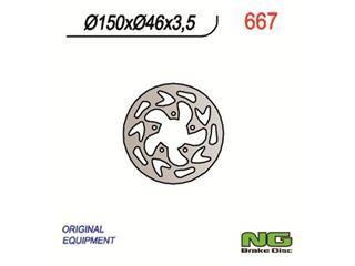 NG 667 Brake Disc Round Fix