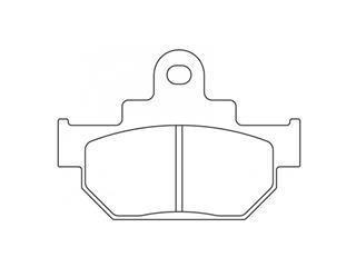 Plaquettes de frein CL BRAKES 2387X59 métal fritté - 272387X59