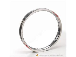 16x1.85 x32T EXCEL silver rear wheel rim