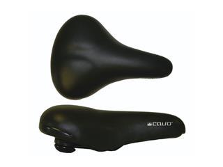 SADDLE CAVO COMFORT ELASTOMER.BLACK 256X175MM