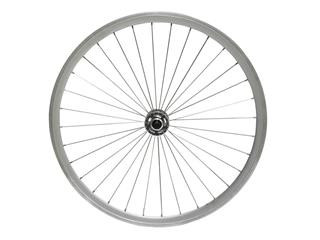 FRAMHJUL CAVO FIXIE DUBBELBOTTNAD MUTTER SILVER 622MM
