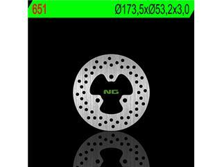 NG 651 Brake Disc Round Fix