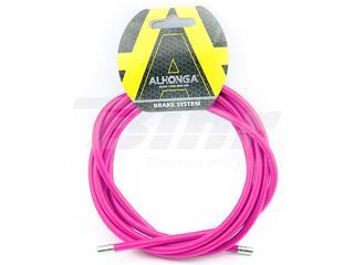 Funda cable acero laminado Ø5 Rosa 2m