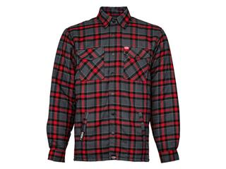 BELL Dixxon Flannel Jacket Grey/Red Size S - 825000041068