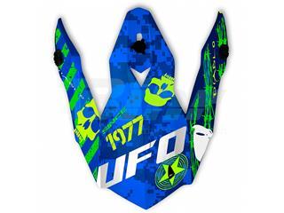 Recambio Visera casco UFO Onyx Diablo azul verde amarillo HR114
