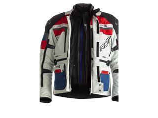 Veste RST Adventure-X Airbag CE textile Ice/Blue/Red taille L homme - 5b2797d0-f32b-4802-8a96-b6e9129d85f5