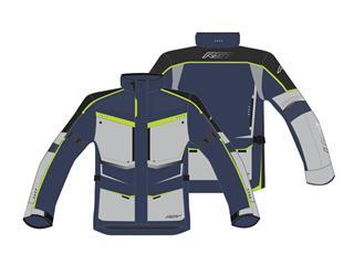 Veste RST Maverick CE textile noir/fluo taille 2XL homme