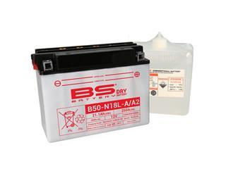 Batterie BS BATTERY B50-N18L-A2 conventionnelle livrée avec pack acide - 321856