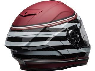 BELL Race Star Flex DLX Helmet RSD The Zone Matte/Gloss White/Candy Red Size M - 5b886b2d-7e56-403a-b719-92cc6a80303b