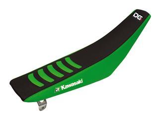 Housse de selle BLACKBIRD Double Grip 3 noir/vert Kawasaki KX125 - 78102195