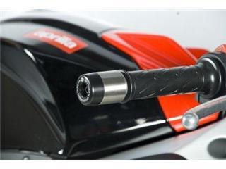 Lenkerenden schwarz R&G RACING für APRILIA - 446144