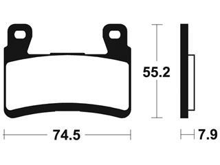 Plaquettes de frein TECNIUM MRR394 métal fritté - 5c6e5ccf-5e8b-4d8f-864c-63eca818299e