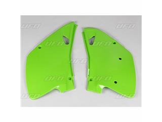 Plaques latérales UFO vert KX Kawasaki KX125/250 - 78228342