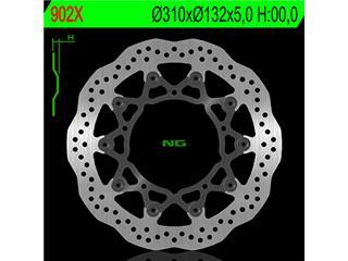 Disque de frein NG 902X pétale flottant - 350902X