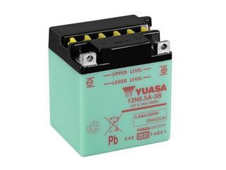 Batterie YUASA 12N5.5A-3B conventionnelle
