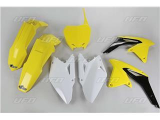 UFO Plastic Kit OEM Color Yellow/Black/White Suzuki RM-Z450