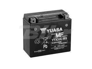Batería Yuasa YTX20L-BS Combipack (con electrolito)