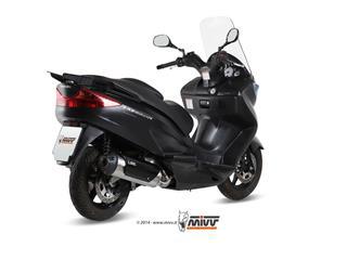 MIVV URBAN Stainless Catalyzed Full Exhaust System Suzuki Burgman 125/200