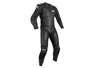 RST IOM TT Grandstand CE Leather Suit Black Size L Men
