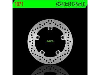 Disque de frein NG 1071 rond fixe