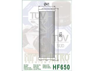 Filtre à huile HIFLOFILTRO HF650 KTM SX450/SX450 ATV/SX 505 ATV - 5d9bbd9e-647e-499f-a0f0-c07a33b9559e