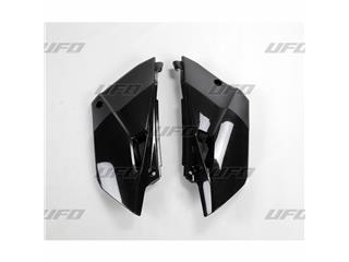Plaques latérales UFO noir Yamaha YZ85 - 78437120