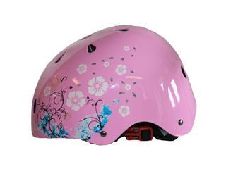 HELMET CAVO Jump PINK/FLOWER SMALLARGE/54-56CM