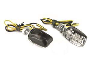 Intermitentes BIHR Shell LED negro universal - 322114