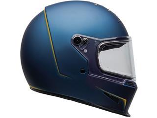 Casco Bell Eliminator VANISH Azul Mate/Amarillo, Talla XS