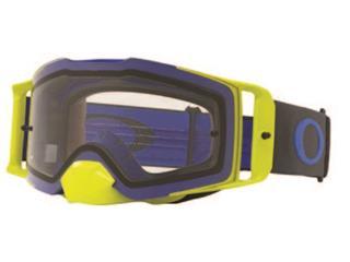Masque OAKLEY Front Line MX bleu/vert écran transparent