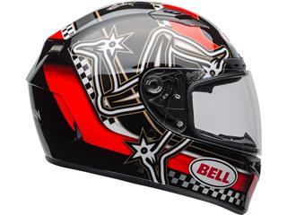 Casco Bell Qualifier DLX Mips ISLE OF MAN 2020 Rojo/Negro/Blanco, Talla S