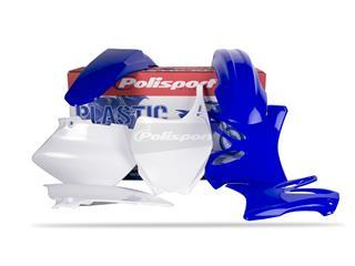 Kit plastique POLISPORT couleur origine (06-08/10-12) Yamaha YZ125/YZ250 - PS111ST04