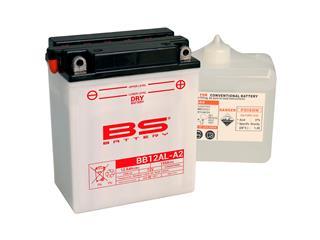 Batterie BS BATTERY BB12AL-A2 haute performance livrée avec pack acide - 321839
