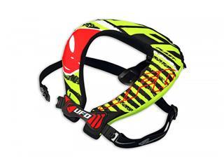 Proteção de pescoço UFO Bulldog, preta/verde, tamanho único - 806000030101