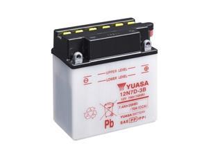 Batterie YUASA 12N7D-3B conventionnelle