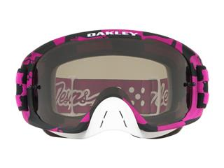OAKLEY O Frame 2.0 MX Goggle Troy Lee Designs Race Shop Pink Dark Grey Lens - 5f33eb11-66ca-49ba-b453-cc023344868a