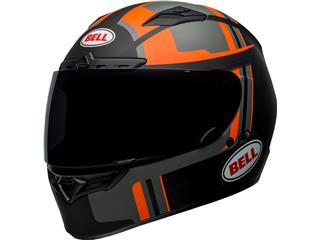 BELL Qualifier DLX Mips Helmet Torque Matte Black/Orange Size M - 800000150669