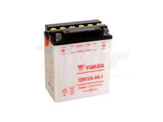 Batería Yuasa 12N12A-4A-1 Combipack (con electrolito)