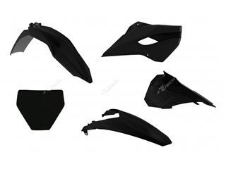 Kit plastique RACETECH noir Husqvarna TC85  - 7804840