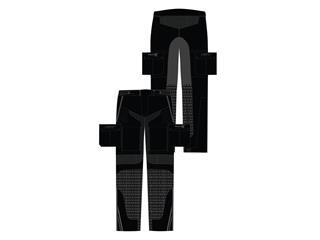Pantalon RST Adventure-X CE textile noir taille XL femme