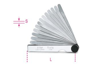 BETA Metric Feeler Gauge 0,05 - 1mm 20 Slides