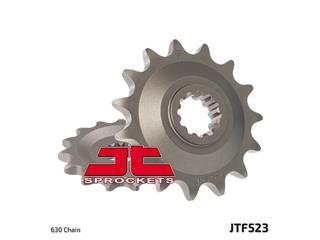 JT SPROCKETS Front Sprocket 15 Teeth Steel Standard 630 Pitch Type 523
