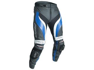 RST Tractech Evo 3 Pants CE Leather Blue Size S Men