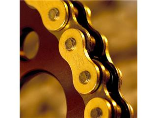 Chaîne de transmission RENTHAL 420 R1 Works or/noir 116 maillons - 609a737b-3e62-44ee-9731-b2b670dca654