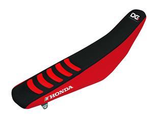 Housse de selle BLACKBIRD Double Grip 3 noir/rouge Honda CRF450R/RX - 7805117