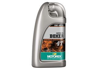 Huile moteur MOTOREX Boxer 4T 5W40 100% synthétique 1L - 551309