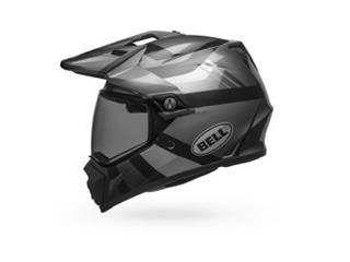BELL MX-9 Adventure Mips Helm Matt/Gloss Blackout Größe XXL