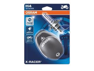 Ampoule OSRAM H4 X-Racer 12V/60/55W culot P43t-38 Blister 2pcs + casque - 320142