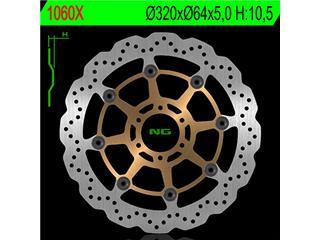 Disque de frein NG 1060X pétale flottant - 3501060X